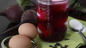 Beet-Pickled Eggs