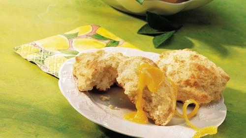 Lemon-Cream Cheese Scones image