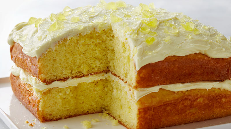Lemon Drop Cake Recipe