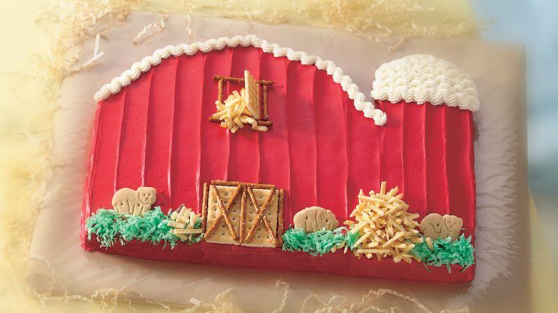 Betty Crocker Little Red Barn Cake