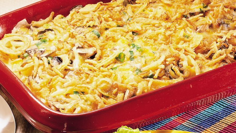 Ham and Swiss Casserole