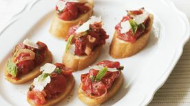 Roasted Tomato Bruschetta