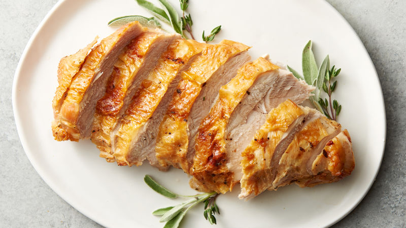Air Fryer Herbed Turkey Breast