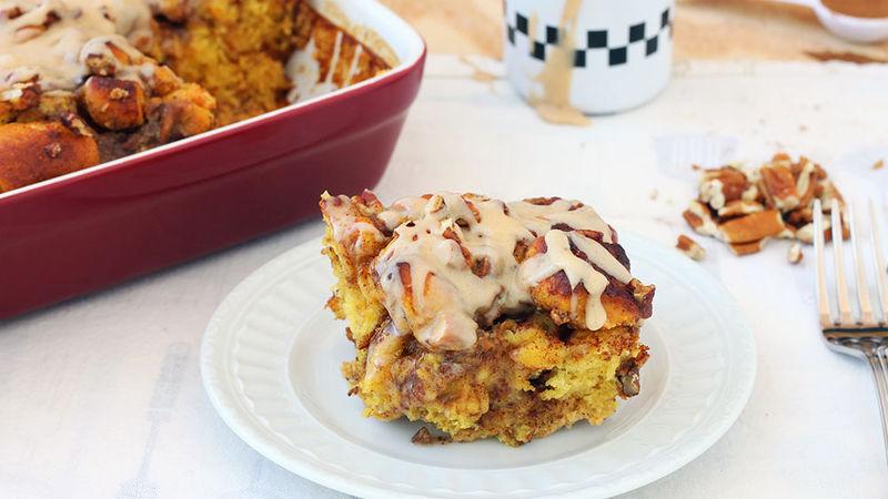 Pumpkin Pie Breakfast Bake