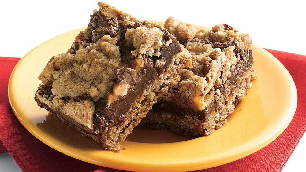 Candy Bar Fudge Jumbles