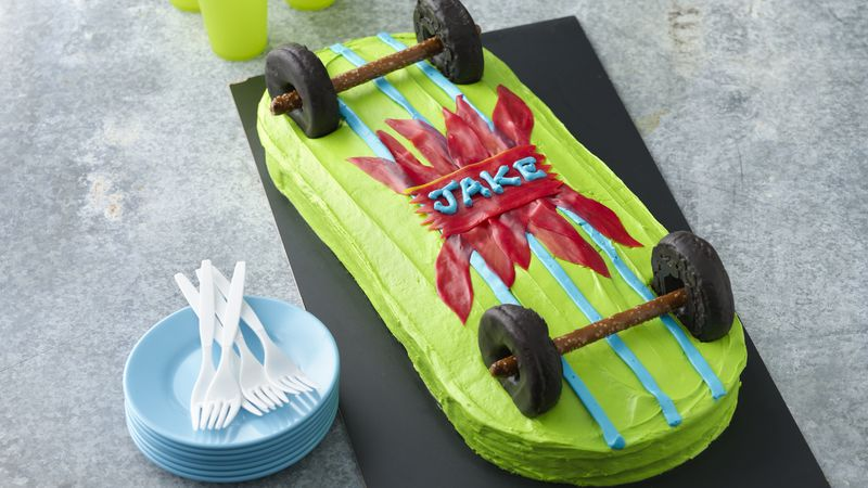 Skateboard Cake Recipe Bettycrocker Com