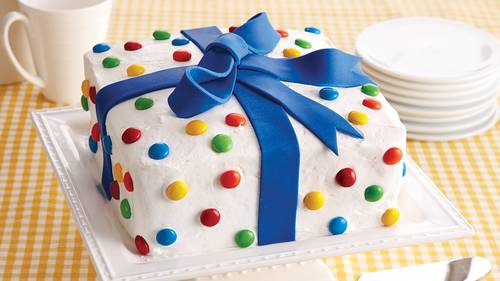 Birthday Present Cake Recipe - BettyCrocker.com