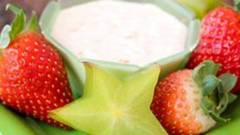 Whippy Orange Creme Fruit Dip