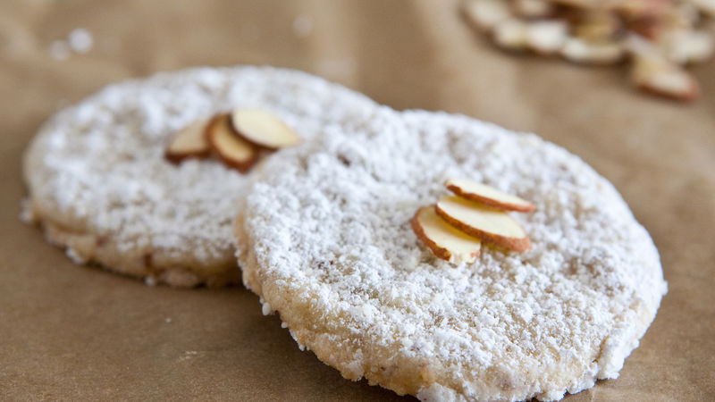 Double Almond Sugar Cookies
