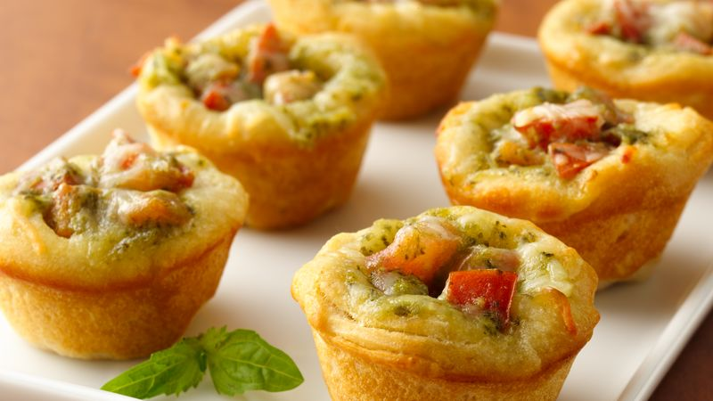 Tomato Pesto Appetizers Recipe Pillsbury Com