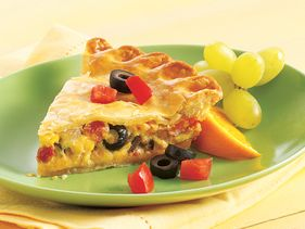 Quesadilla Quiche
