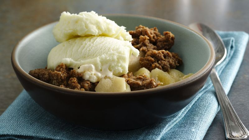 Best Apple Crisp Recipe Bettycrocker Com