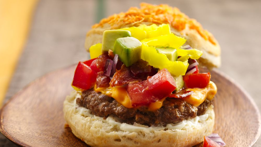 Loaded Nacho Burgers