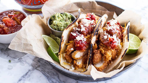 Southern Fried Chicken Tacos Recipe