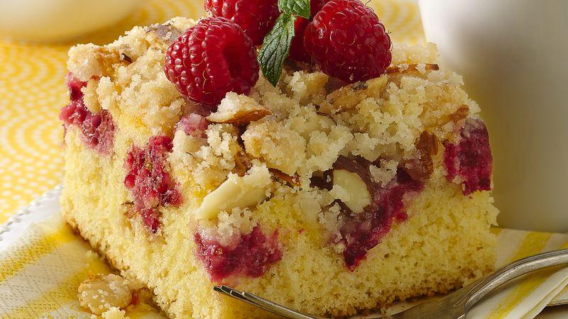 Raspberry Crumb Cake image