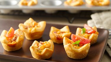 Bacon-Cream Cheese Crescent Cups