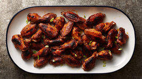 Baked Blackened Cajun Chicken Wings
