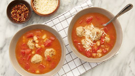 Slow-Cooker Italian Meatball Soup