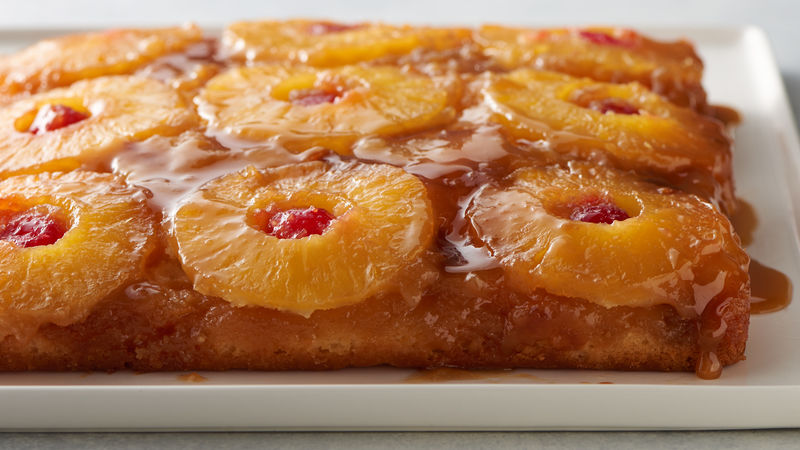 Pineapple Upside Down Cake Recipe Bettycrocker Com