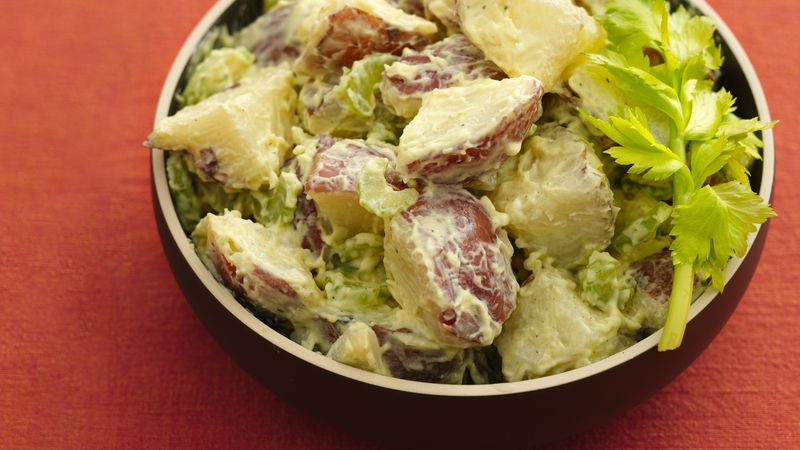 Skinny Classic Potato Salad