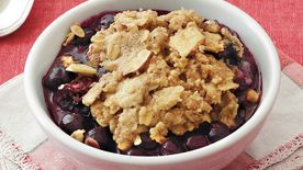 Blueberry Almond Cobbler