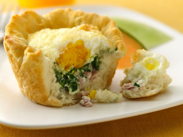 Baked Egg Biscuit Cups