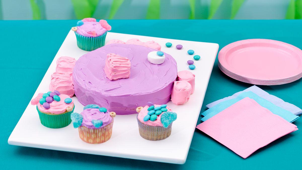 Kids Birthday Cupcakes