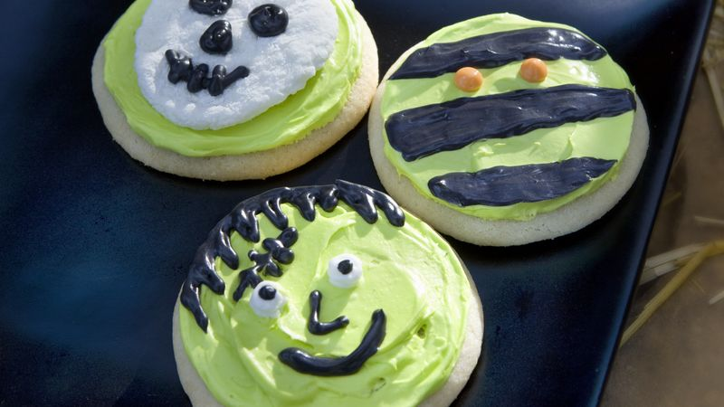 Ghoulish Cookies