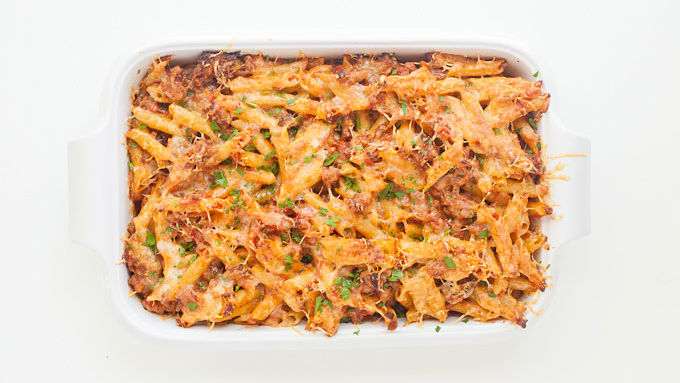 Classic Baked Mostaccioli Recipe Tablespoon