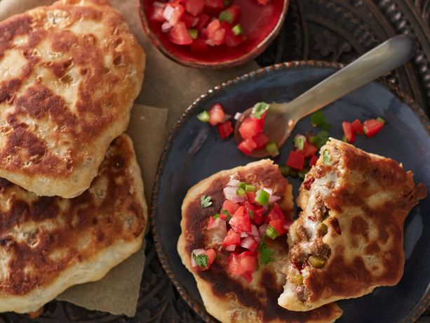 Ground Beef And Chipotle Biscuit Pupusa General Mills Convenience