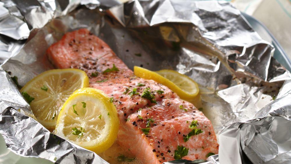 Grilled Lemon Salmon