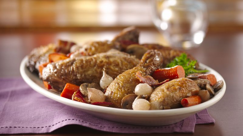 Coq Au Vin Recipe Bettycrocker Com