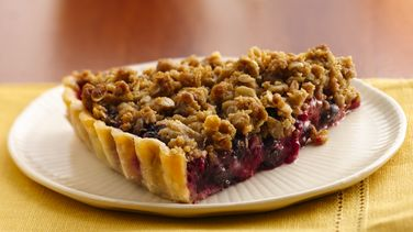 Berry Delicious Crumble Tart