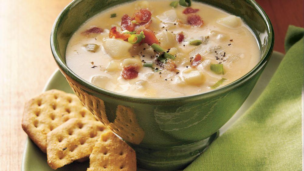 Slow-Cooker Cheesy Potato Soup