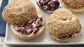 Honey Sesame Bagels