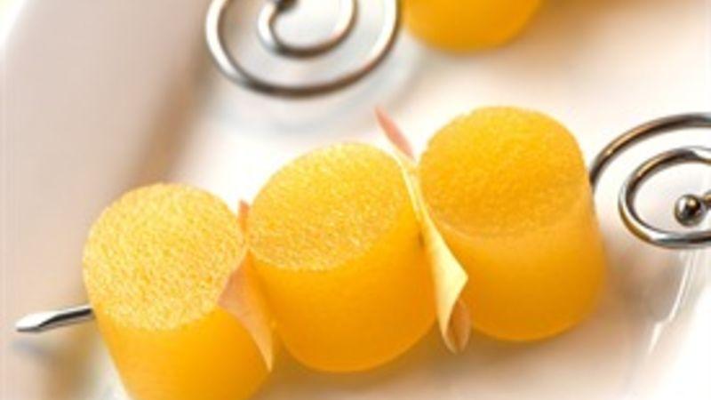 Mimosa Jello Shots
