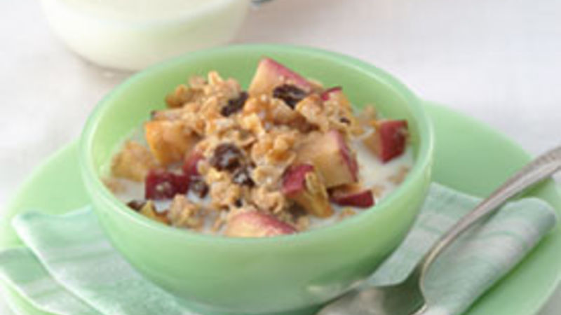 Baked Apple-Maple Oatmeal