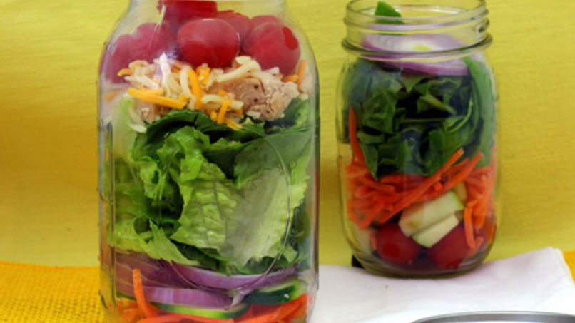 Chicken Salad in a Jar
