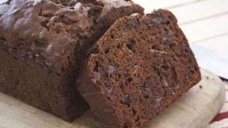 Triple Chocolate Zucchini Bread