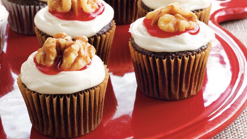 Mini Brain Cupcakes