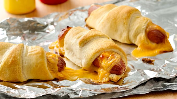 Grilled Crescent Dogs