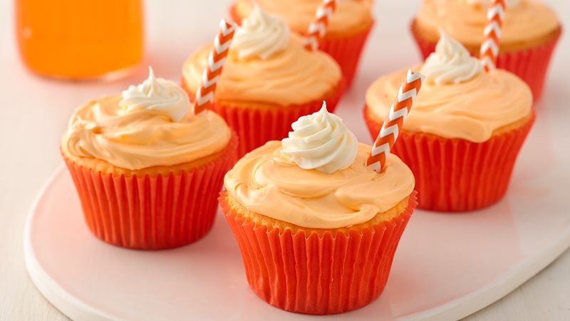 TwoIngredient Soda Pop Cupcakes Recipe BettyCrockercom