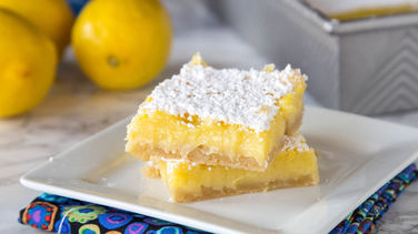 5-Ingredient Lemon Bars