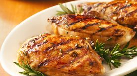 Balsamic-Glazed Grilled Chicken Breasts