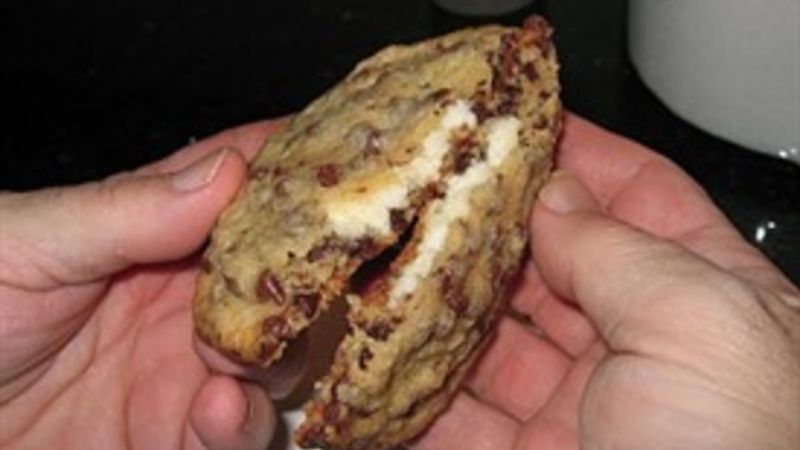 Aphrodisiac Cream Cheese-Stuffed Chocolate Chip Cookies