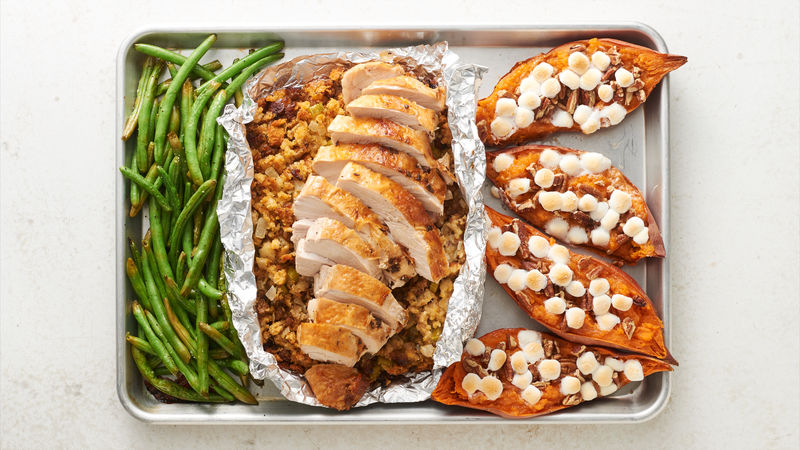Sheet-Pan Turkey Dinner