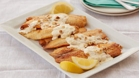 Pan-Seared Tilapia with Lemon-Butter Sauce