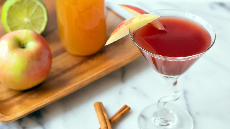Apple Cider Resolution Cocktail