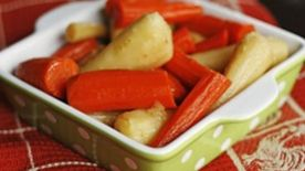 Glazed Carrots and Parsnips