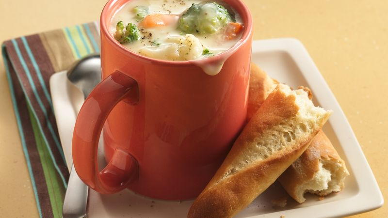 Spicy Mexican Cheese Chowder